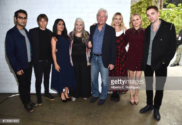 Kumail Nanjiani Sean Baker Salma Hayek Lois Smith Richard Gere Margot Robbie Diane Kruger and Robert Pattinson attend 'Indie Contenders Roundtable'...