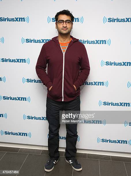 Kumail Nanjiani visits at SiriusXM Studios on April 20 2015 in New York City