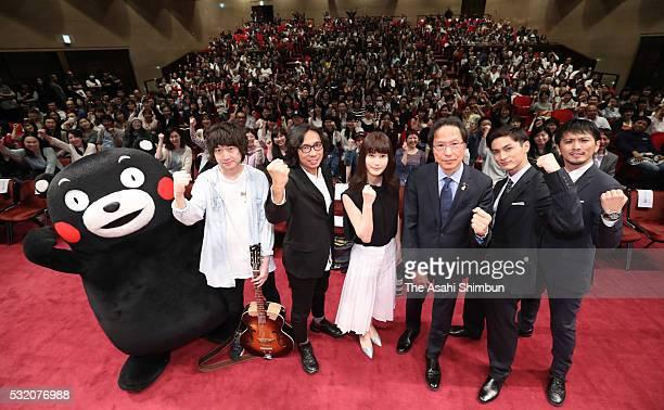 Kumamoto Prefecture official mascot 'Kumamon' singer Takahiro Shibata director Isao Yukisada actress Ai Hashimoto political scientist Kang Sangjung...