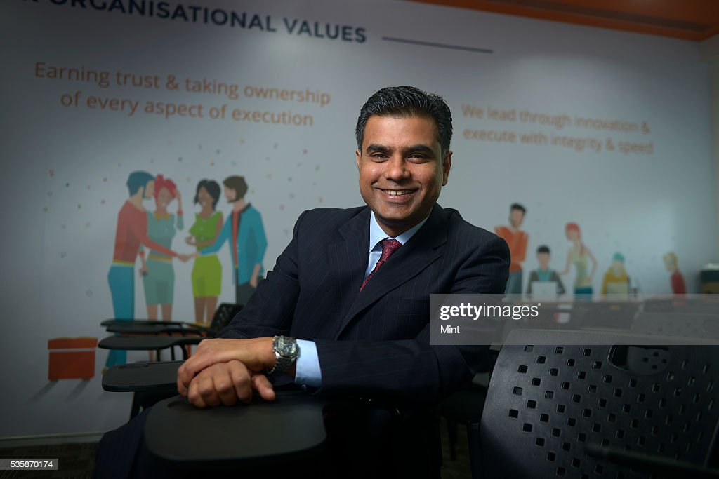 Kumar Karpe, CEO of TechProcess Payment Services Limited, poses during an exclusive interview on December 24, 2015 in Mumbai, India.