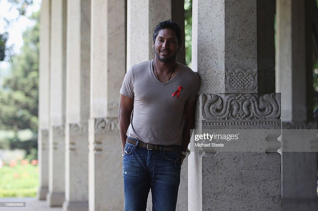<a gi-track='captionPersonalityLinkClicked' href=/galleries/search?phrase=Kumar+Sangakkara&family=editorial&specificpeople=206804 ng-click='$event.stopPropagation()'>Kumar Sangakkara</a>, captain of Sri Lanka returns to Trinity College his old school to promote 'Think Wise' a campaign with UNAIDS, UNICEF and the ICC on March 8, 2011 in Kandy, Sri Lanka.