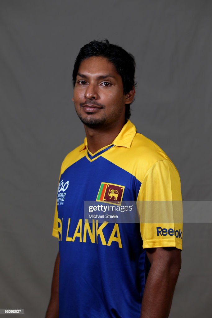 <a gi-track='captionPersonalityLinkClicked' href=/galleries/search?phrase=Kumar+Sangakkara&family=editorial&specificpeople=206804 ng-click='$event.stopPropagation()'>Kumar Sangakkara</a> captain of the Sri Lanka T20 ICC World Cup squad on April 26, 2010 in Bridgetown, Barbados.