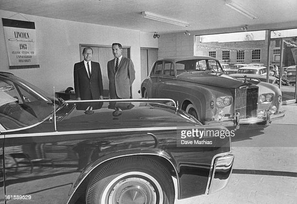 APR 28 1963 Kumpf Motors Adds Luxury showroom Karl Kimmell Sales Manager and Florian Barth Coowner