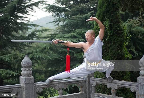 Kun Fu Monk Warrior in Shaolin Temple Chain.