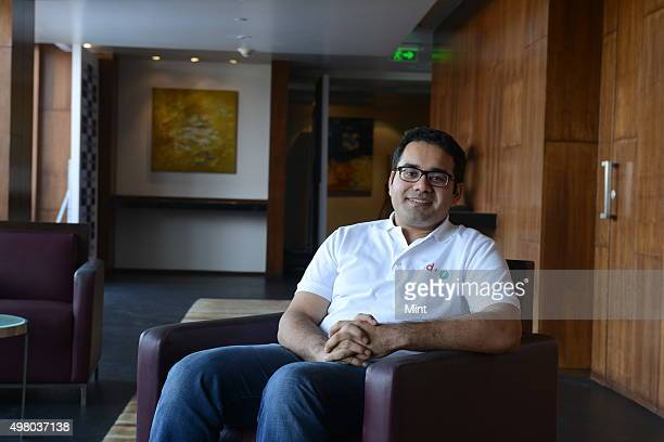 Kunal Bahl CoFounder CEO Snapdeal during an interview on April 8 2015 in Bangalore India