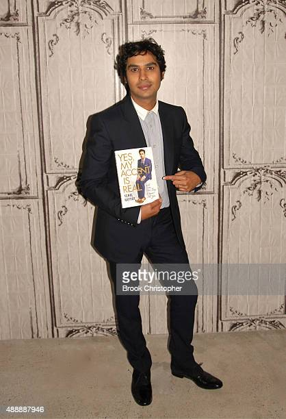Kunal Nayyar at AOL Studios In New York on September 17 2015 in New York City