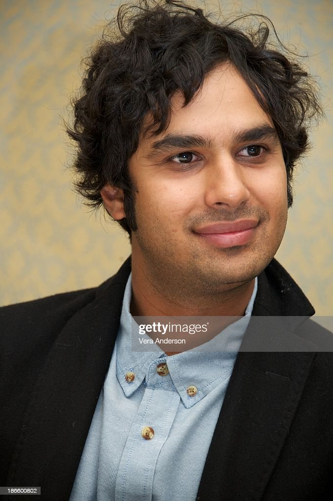<a gi-track='captionPersonalityLinkClicked' href=/galleries/search?phrase=Kunal+Nayyar&family=editorial&specificpeople=4414736 ng-click='$event.stopPropagation()'>Kunal Nayyar</a> at 'The Big Bang Theory' Press Conference at the Four Seasons Hotel on October 30, 2013 in Beverly Hills.