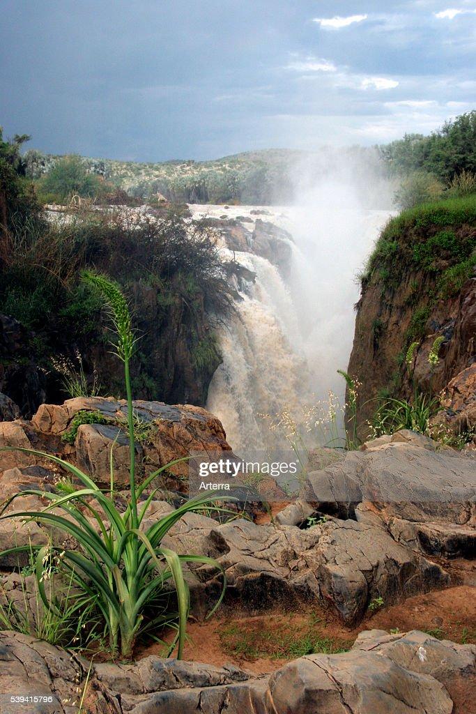 Kunene river and the Epupa falls Kaokoveld Namibia South Africa