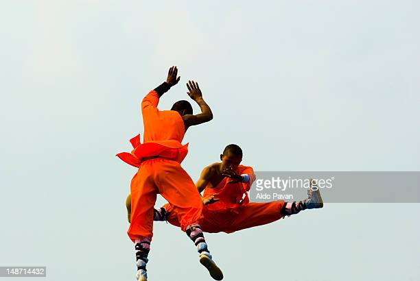 Kung-fu fighters.