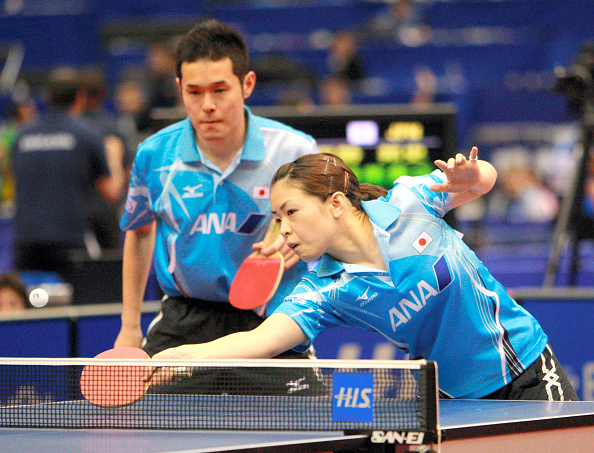 2009 World Table Tennis Championships - Day 2 : News Photo