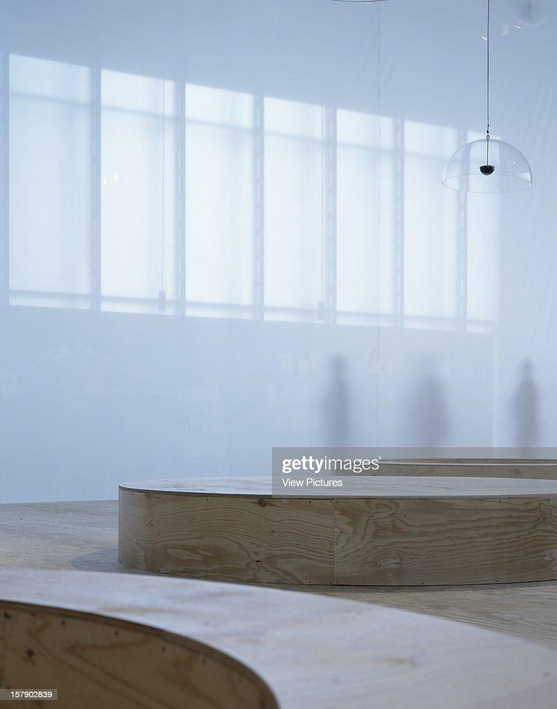 Kunsthaus Bregenz, Bregenz, Austria, Architect Peter Zumthor, Kunsthaus  Bregenz Ground Floor Gallery