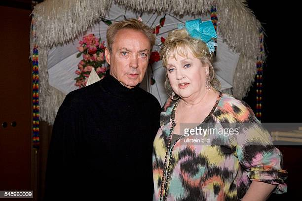 Kunstmann Doris Actress Germany with actor Udo Kier