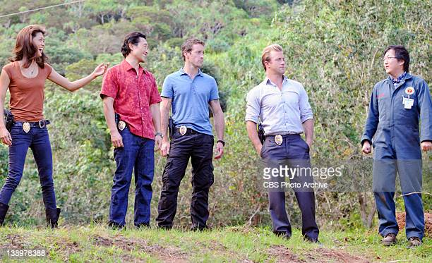'Kupale' Kono Chin McGarrett Danny and Max at the site of a historical war reenactment where a man dressed as a Hawaiian NaKoa warrior is found...