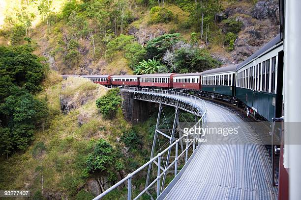 Kuranda scenic railway train, Queensland