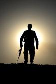 Kurdish Peshmerga forces stand guard in the oilrich city of Kirkuk against Islamic State of Iraq and the Levant on June 17 2014 Kurdish Peshmerga...
