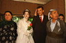 Kurds celebrate a wedding March 27 2002 in Suleimaniyeh part of the northern Iraq 'safe haven' controlled by the Patriotic Union of Kurdistan one of...