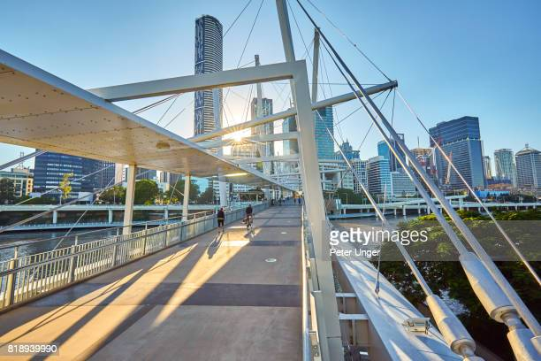 Kurilpa Pedestrian Bridge,Brisbane,Queensland,Australia