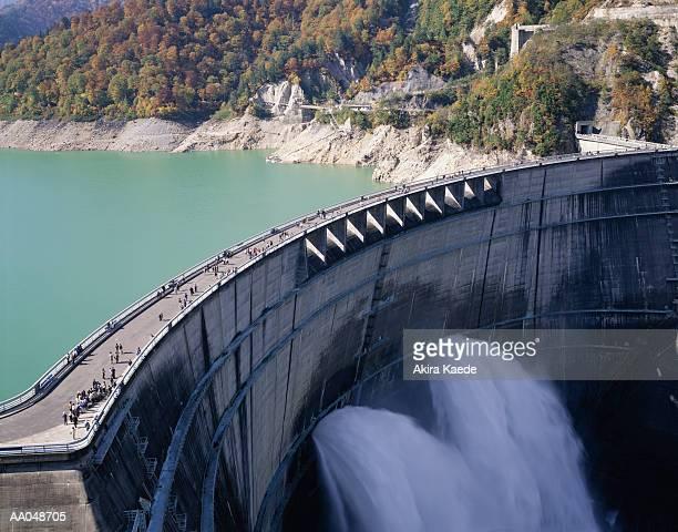 Kuroyon Dam, Kurobe, Japan