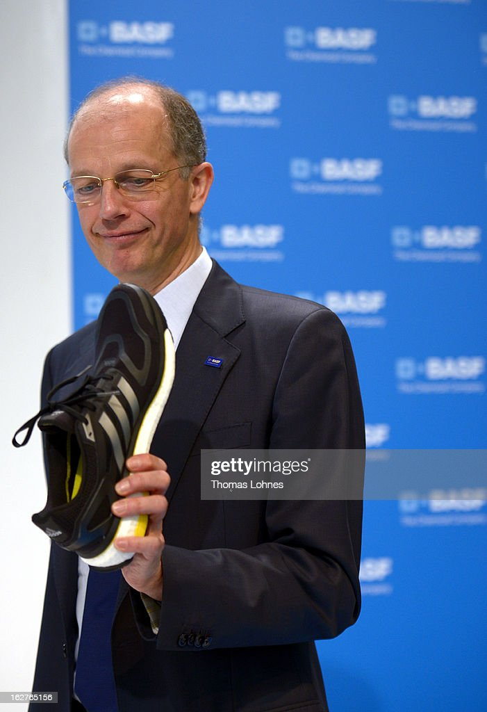 Kurt Bock, Chairman of the Board of Executive Directors at BASF SE, reacts during the company's earnings news conference on February 26, 2013 in Ludwigshafen, Germany. BASF SE, the world's largest chemical company, has projected increased sales this year.