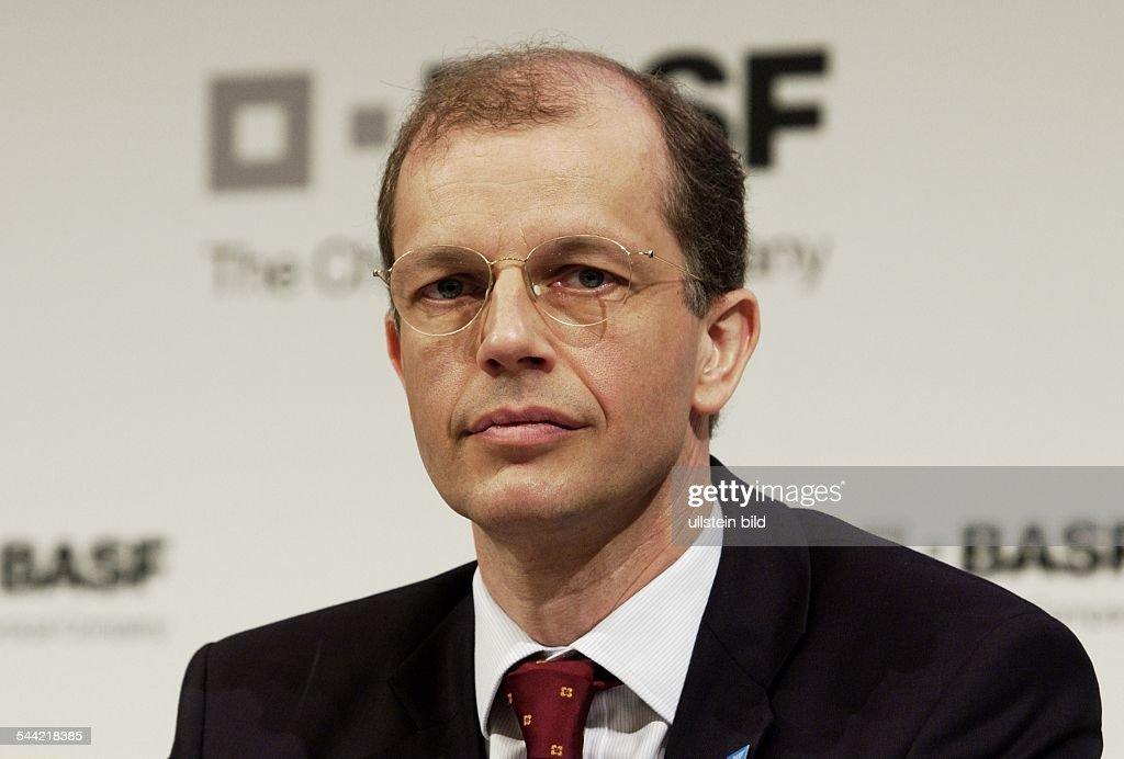 Kurt BOCK Vorstandsmitglied der BASF AG