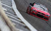 Kurt Busch driver of the Haas Automation Chevrolet practices for the NASCAR Sprint Cup Series Axalta 'We Paint Winners' 400 at Pocono Raceway on June...