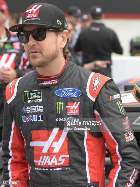 Kurt Busch StewartHaas Racing Monster Energy/Haas Automation Ford Fusion before the Monster Energy Cup Series Food City 500 on April 24 at Bristol...