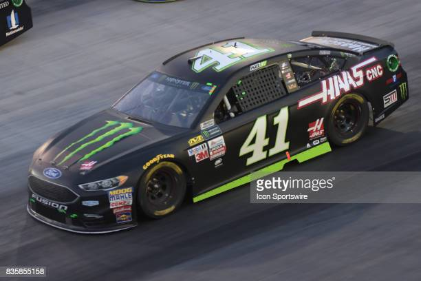 Kurt Busch StewartHaas Racing Monster Energy/Haas Automation Ford Fusion during the NASCAR Monster Energy Cup Series Bass Pro Shops NRA Night Race on...