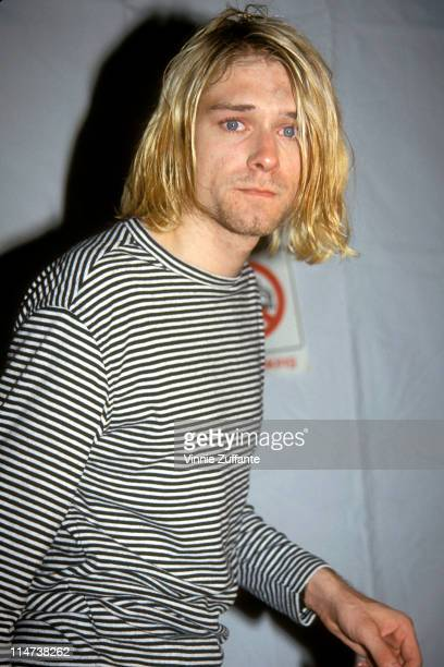 Kurt Cobain attending the 1993 MTV Video Music Awards at Universal City CA 09/02/93