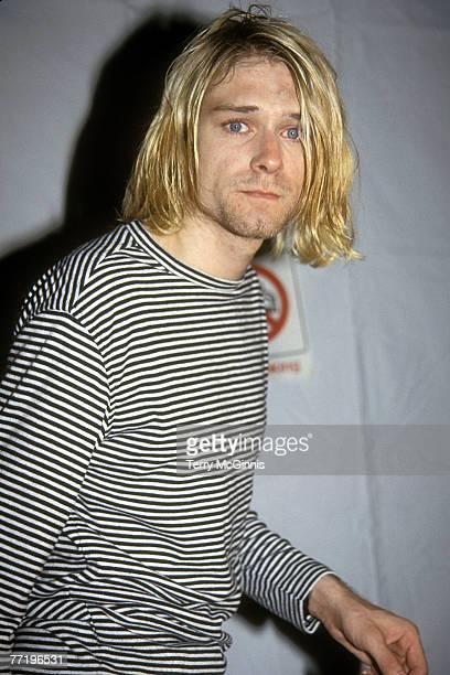 Kurt Cobain attending the 1993 MTV Video Music Awards at Universal City CA 09/02/93 2003 Vincent Zuffante_Star File
