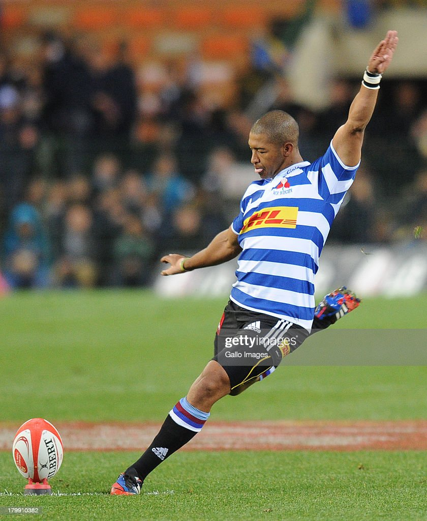 Kurt Coleman of Western Province during the Absa Currie Cup match between DHL Western Province and The Sharks from DHL Newlands on September 07 2013...