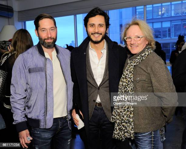 Kurt Hoffman Alessandro Luongo and John Ermitanger attend True Religion Fall 2017 Preview at Milk Studios on March 30 2017 in New York City
