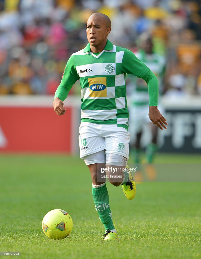 Kurt Lentjies during the Absa Premiership match between Bloemfontein Celtic and Kaizer Chiefs at FNB Stadium on March 31, 2013 in Johannesburg, South Africa.