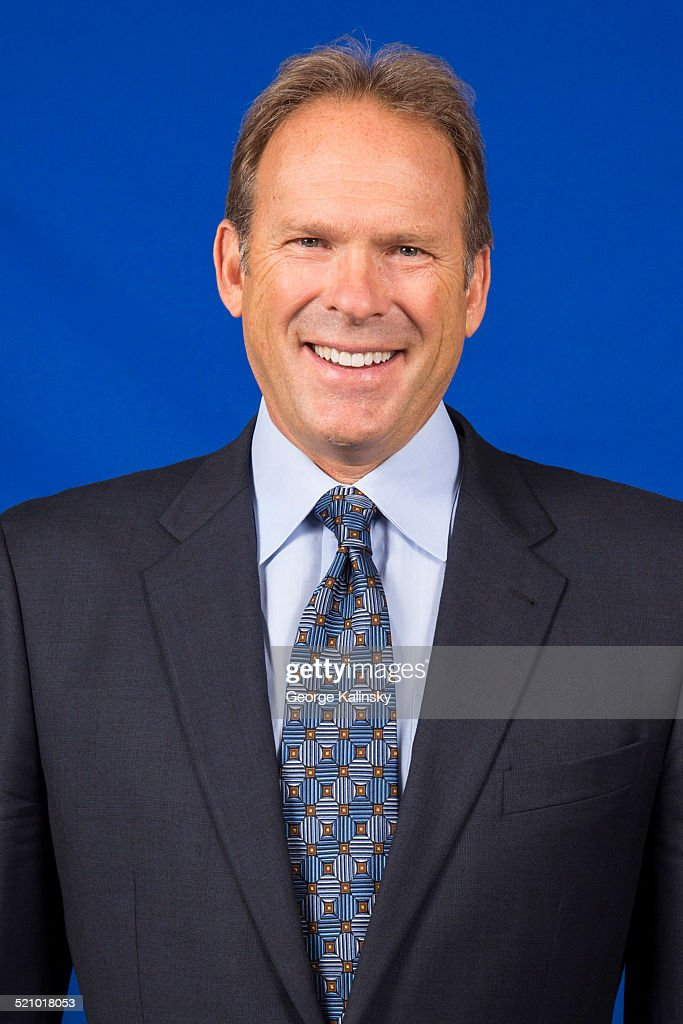 Kurt Rambis of the New York Knicks poses for a portrait on September 12 2014 in Tarrytown New York NOTE TO USER User expressly acknowledges and...