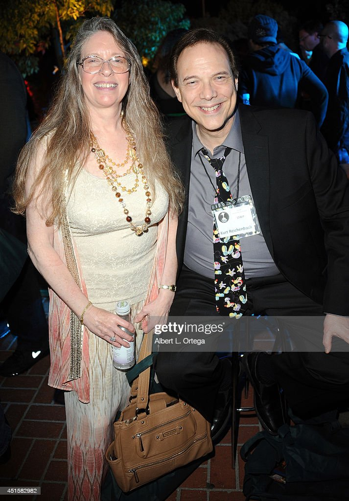 Kurt Reichenbach (R) attends the After Party for the 40th Annual Saturn Awards held at on June 26, 2014 in Burbank, California.