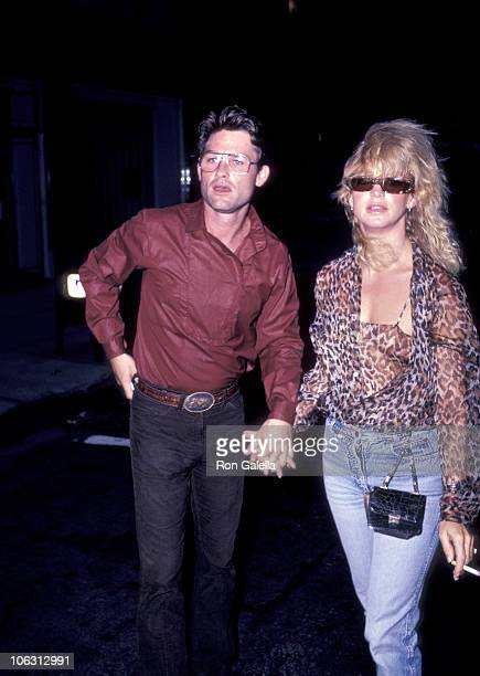 Kurt Russell and Goldie Hawn during Goldie Hawn and Kurt Russell Sighting at the Carlyle Hotel July 23 1983 at Carlyle Hotel in New York City New...