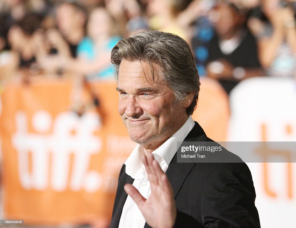 Kurt Russell arrives at 'The Art Of The Steal' premiere during the 2013 Toronto International Film Festival held at Roy Thomson Hall on September 11...