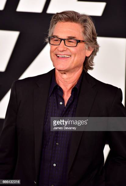 Kurt Russell attends 'The Fate Of The Furious' New York premiere at Radio City Music Hall on April 8 2017 in New York City