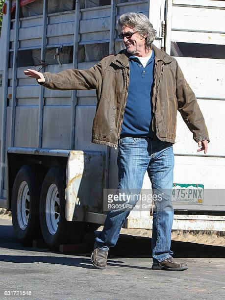 Kurt Russell is seen on January 14 2017 in Los Angeles California