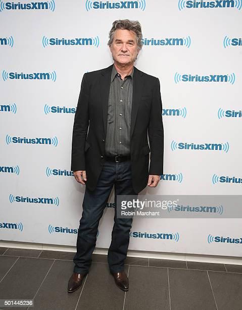 Kurt Russell visits at SiriusXM Studios on December 15 2015 in New York City