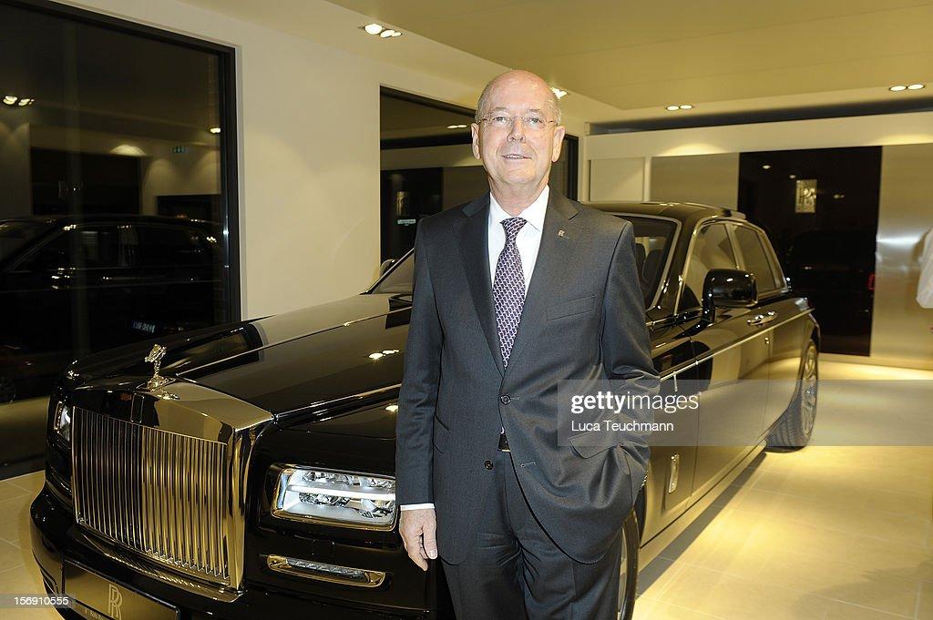 Kurt Schnauck attends the Rolls-Royce Motorcars Berlin Opening on November 24, 2012 in Berlin, Germany.