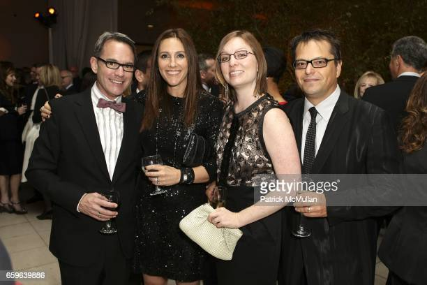 Kurt Sheppard Brooke Kanter Mary Lee Cherry and Tom De Los Reyes attend GALA IN THE GARDEN at HAMMER MUSEUM on October 10 2009 in Westwood California