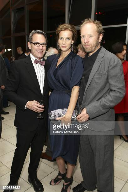 Kurt Sheppard Rachel Griffiths and Andrew Taylor attend GALA IN THE GARDEN at HAMMER MUSEUM on October 10 2009 in Westwood California