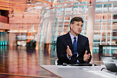 Kurt Simon vice chairman of mergers and acquisitions at JPMorgan Chase Co speaks during a Bloomberg Television interview in New York US on Monday...