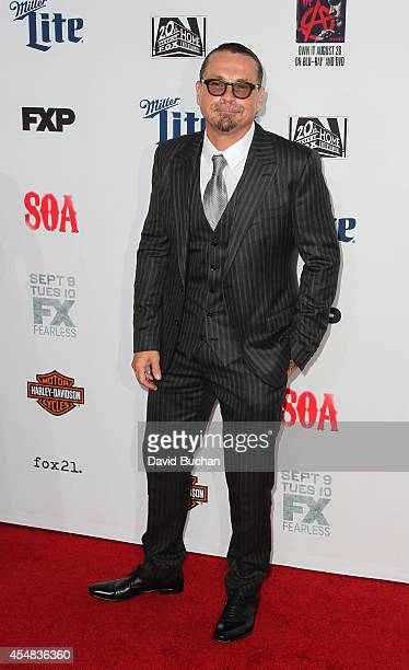 Kurt Sutter attends the Premiere Screening Of FX's 'Sons Of Anarchy' at TCL Chinese Theatre on September 6 2014 in Hollywood California
