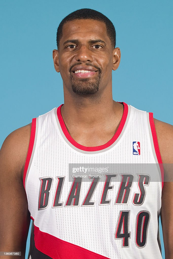 Kurt Thomas #40 of the Portland Trail Blazers poses for a portrait during Media Day on December 16, 2011 at the Rose Garden Arena in Portland, Oregon.
