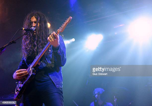 Kurt Vile of Kurt Vile and the Violators performs on stage at the Electric Ballroom on November 12 2015 in London England