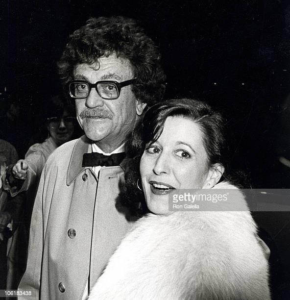 Kurt Vonnegut and Jill Krementz during 'Manhattan' New York City Premiere at Ziegfeld Theater in New York City New York United States
