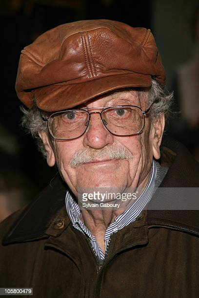 Kurt Vonnegut during Opening Night of Broadway's 'Awake and Sing' Arrivals at Belasco Theater in New York NY United States