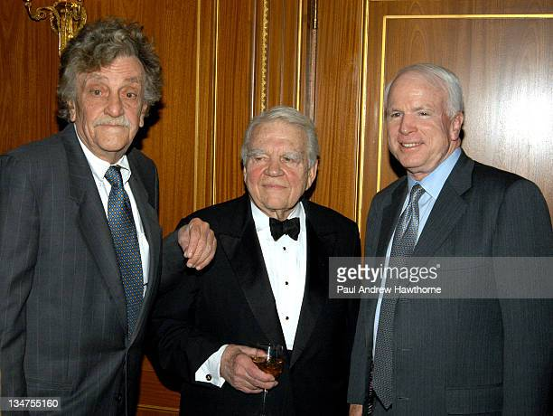 Kurt Vonnegut Jr Andy Rooney and Senator John McCain