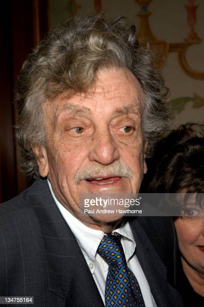 Kurt Vonnegut Jr during 2004 Writers Guild of America East Awards Arrivals at Pierre Hotel in New York City New York United States